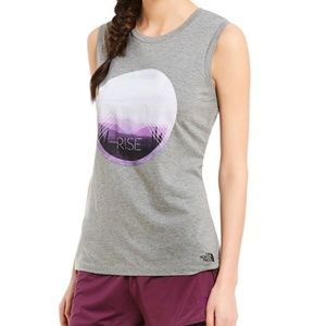 NEW The North Face Rise Heathered Graphic Tank